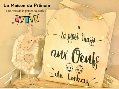 Tote-Bag chasse aux oeufs